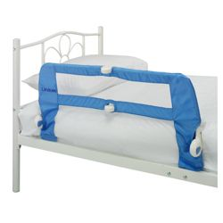 Lindam Soft Folding Bed Rail, Blue