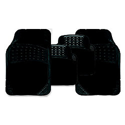 Black Stellar Combination Car Mat Set