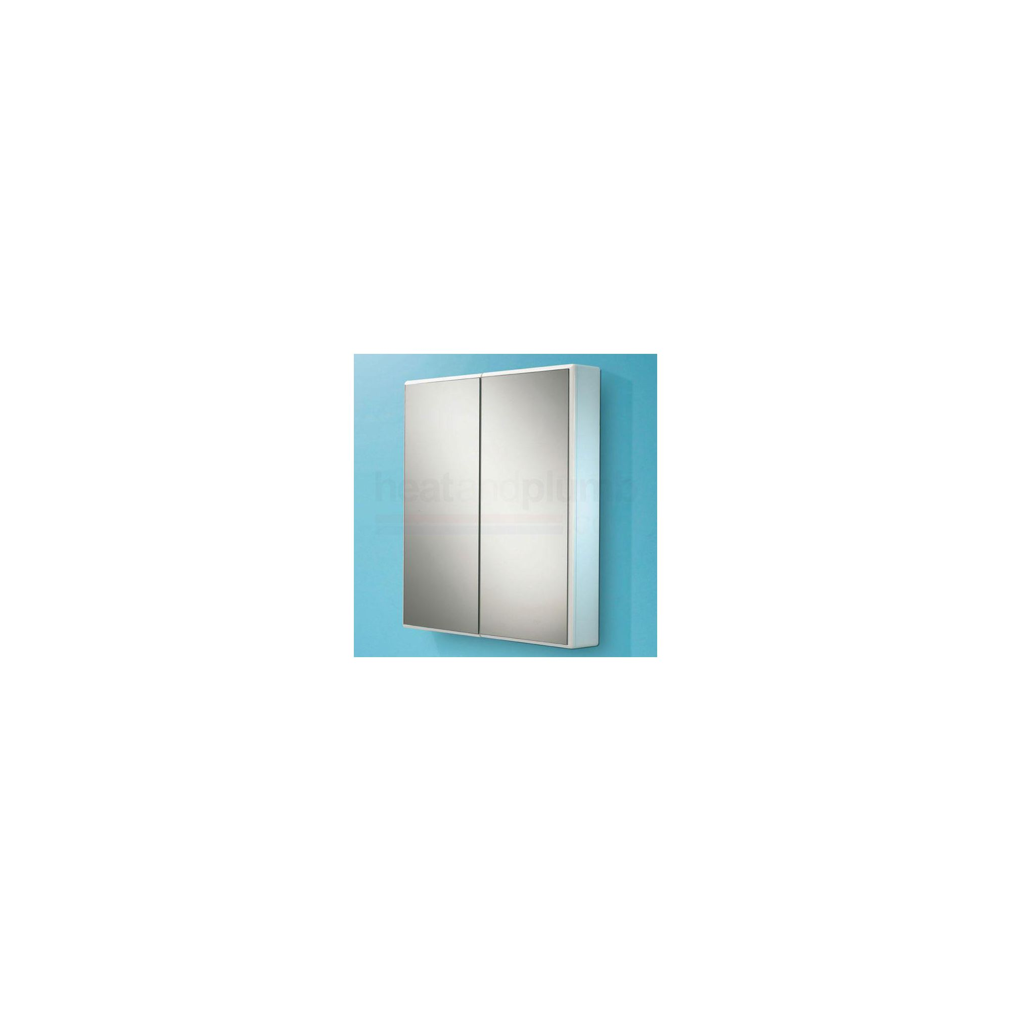HiB Jersey Mirrored Bathroom Cabinet 700mm High x 650mm Wide x 100mm Deep