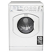 Hotpoint WDL520P Washer Dryer, 7Kg Wash Load, 1200 RPM Spin, B Energy Rating, White