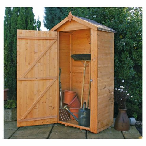 Buy mercia wooden potting shed without shelves 3x2ft from for Buy potting shed