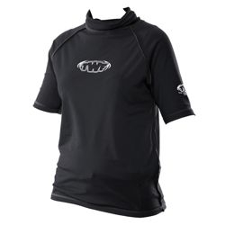 TWF UV Rash Vests Men's & Ladies' S Black
