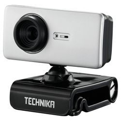 Technika TKW211 Advanced Autofocus 1.3MP VGA Webcam with Microphone