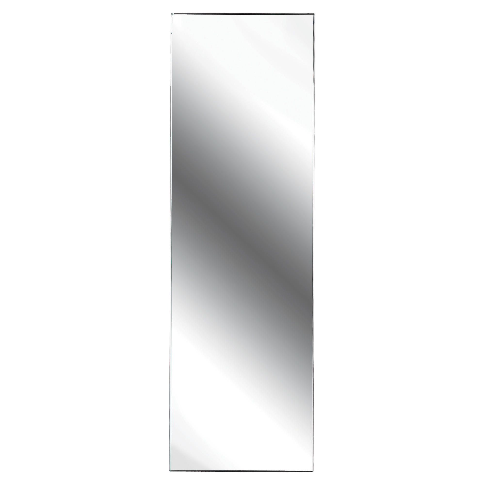 Other High Gloss White Mirrored Single Door Polar Bathroom Cabinet