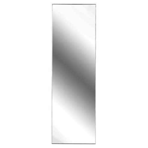 High Gloss White Mirrored Single Door Polar Bathroom Cabinet