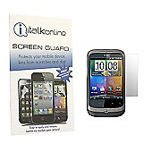 S-Protect LCD Screen Protector & Micro Fibre Cleaning Cloth - HTC WildFire