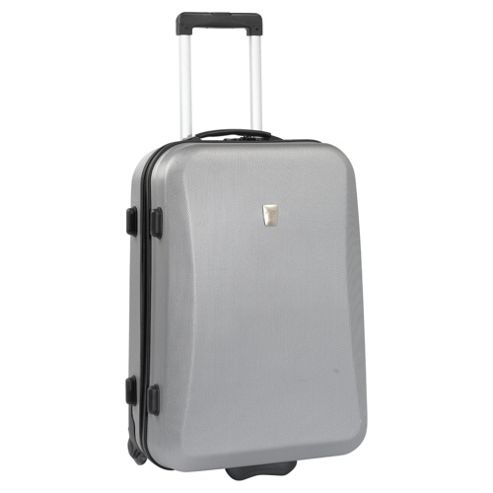 Glimmer 2-Wheel Fashion Suitcase, Silver Medium