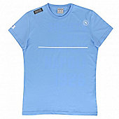 2013-14 Napoli Fan Essential T-Shirt (Sky Blue) - Blue