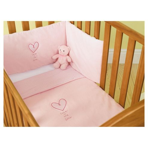 buy zorbit cot cotbed bedding set pink from our all baby toddler bedding range tesco