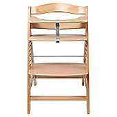 Hauck Alpha Wooden Highchair - Natural