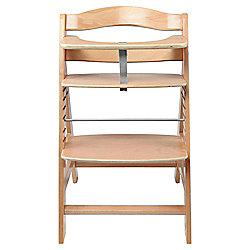Hauck Alpha Wooden Highchair - Natural