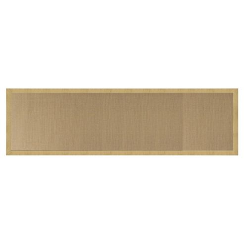Tesco Jute Runner With Border 190x65cm