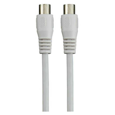 Tesco Aerial M/M Cable connects aerial socket to your device 1.2M