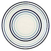Painterly Stripe Side Plate, Blue