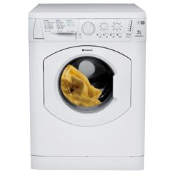 Hotpoint WML520P Washing Machine, 6kg Wash Load, 1200 RPM Spin, A Energy Rating. White