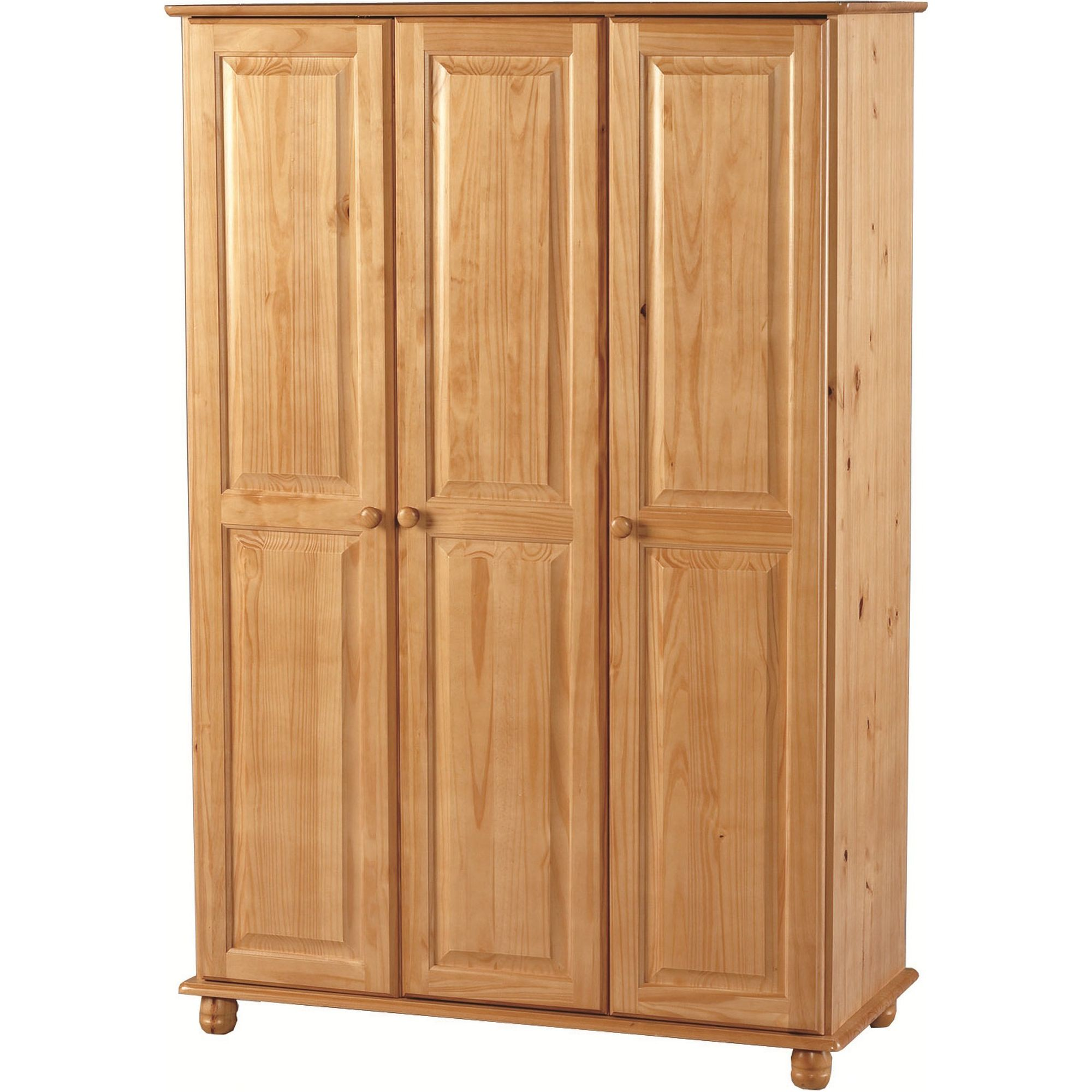 Home Essence Capricorn 3 Door Wardrobe at Tesco Direct