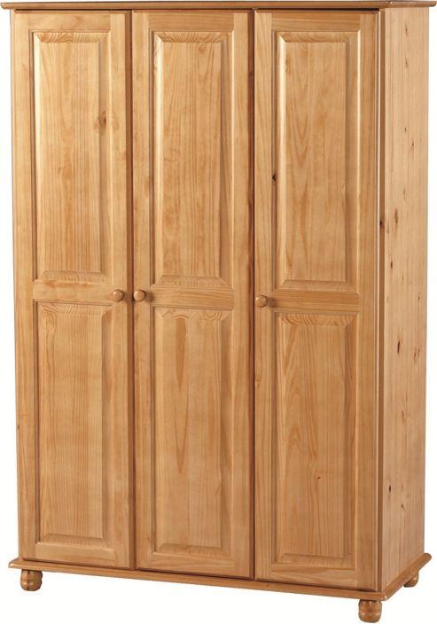 Home Essence Sol 3 Door Wardrobe