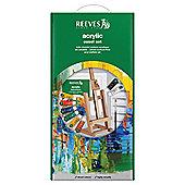 Reeves Acrylic Easel Set