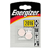 Energizer 2 Pack CR-2016 Batteries