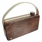 Soul wooden bluetooth speaker