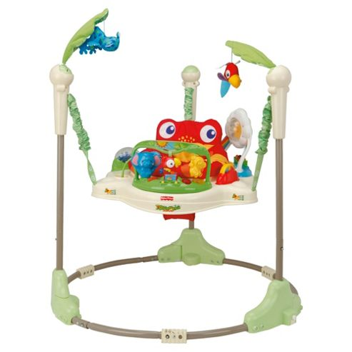 Buy Fisher-Price Rainforest Jumperoo Bouncer from our Baby Bouncers range - Tesco
