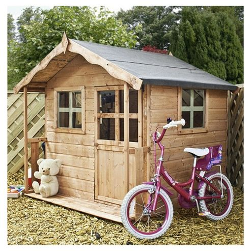 Mercia 5ft x 5ft Poppy Wooden Playhouse