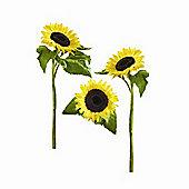 Eurographics Sun Flowers Decosticker