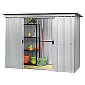 Yardmaster Metal Pent Shed, 6x4ft