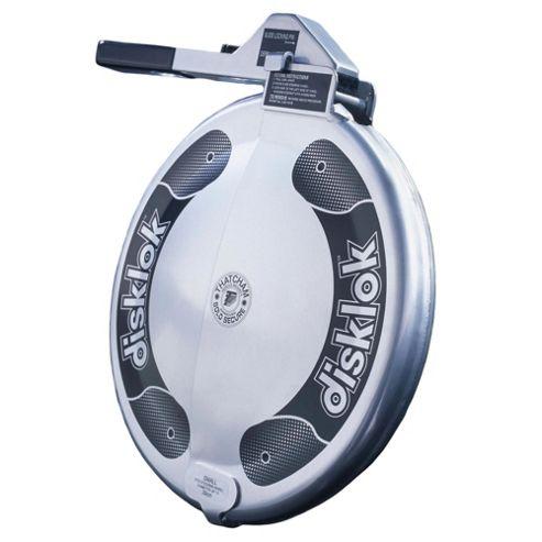 Disklok Steering Lock Silver