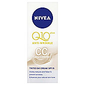 Nivea Q10 & Colour Correction Tinted Day Cream 50ml Tube