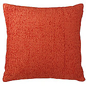 Tesco Chenille Cushion, Terracotta