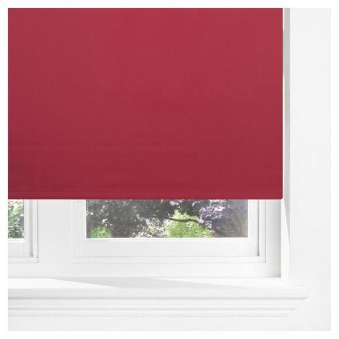 Sunflex Thermal Blackout Blind, Red 120Cm