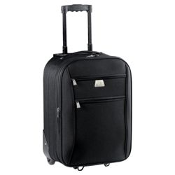 Tesco Relic 2-Wheel Suitcase, Black Small