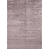 Angelo Silky Lilac Knotted Rug - 240cm H x 170cm W (7 ft 10.5 in x 5 ft 7 in)