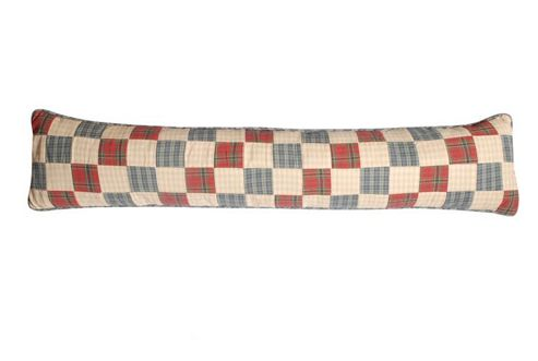 Woven Magic Tartan Scottish Blue Draught Excluder