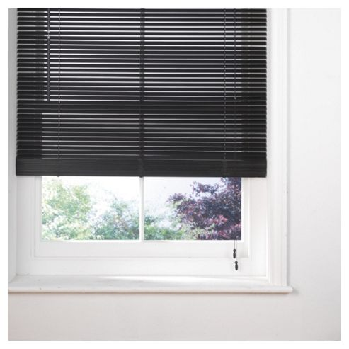 Wood Venetian Blind, 25Mm Slats, Mocha 60Cm