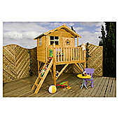 Mercia Sunflower Tower Wooden Playhouse, 7ft x 6ft
