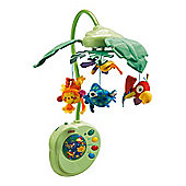 Fisher-Price Rainforest Leaves Peak A Boo Musical Mobile