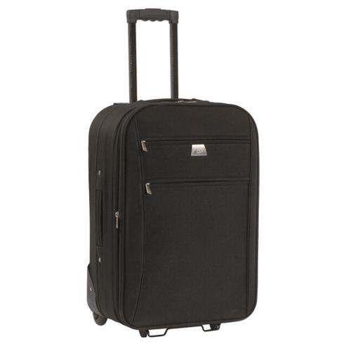 Tesco Relic 2-Wheel Suitcase, Black Medium