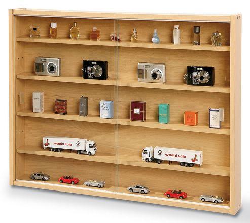 Aspect Design Acquario Display Cabinet in Beech Effect
