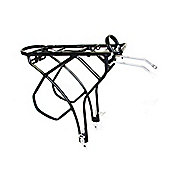 Trans-x Adjustable Black Alloy Pannier Rack