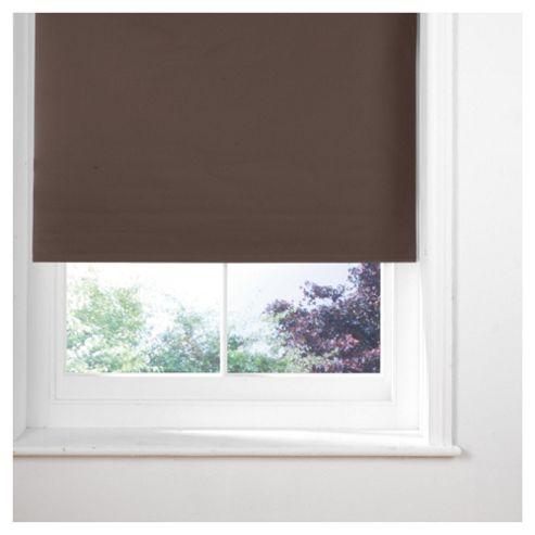 Sunflex Thermal Blackout Blind, Chocolate 180Cm