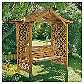 Rowlinson Dartmouth Swinging Seat Arbour
