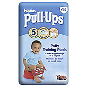 Huggies Pull-Ups Potty Training Pants - Size 5 - Boy - 14 Pack