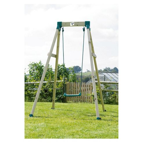 TP Forest Single Wooden Swing Set