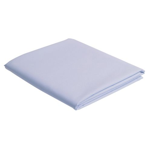 Tesco Double Fitted Sheet, Powder Blue