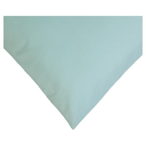 Tesco Twin Pack Pillowcase, Aqua