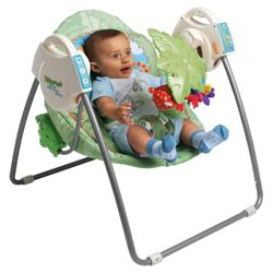 Fisher Price Rainforest Take Along Swing