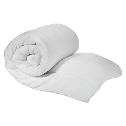 Tesco Standard Cotton Cover Kingsize Duvet, 10.5 Tog