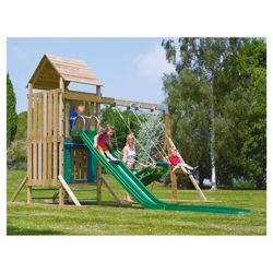 TP Kingswood Top Deck Wooden Climbing Frame & Swing Set